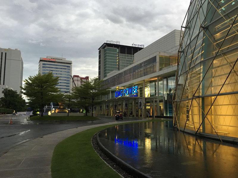 与泰国商业街合作