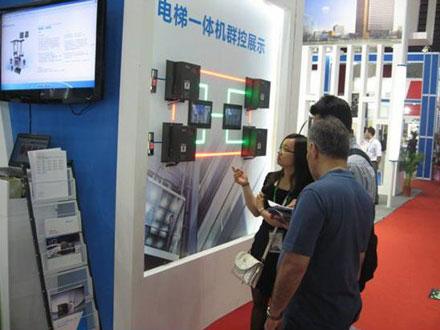 与北京国际电梯展会客户合作