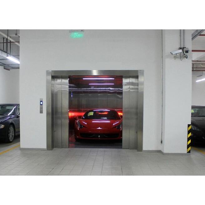 汽车电梯效果图